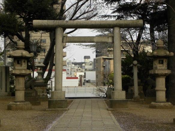 品川神社 Shinagawa Shrine Tokyo, Japan