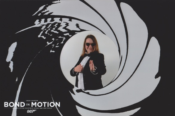 Linnea Nilsson at Bond In Motion - London Film Museum