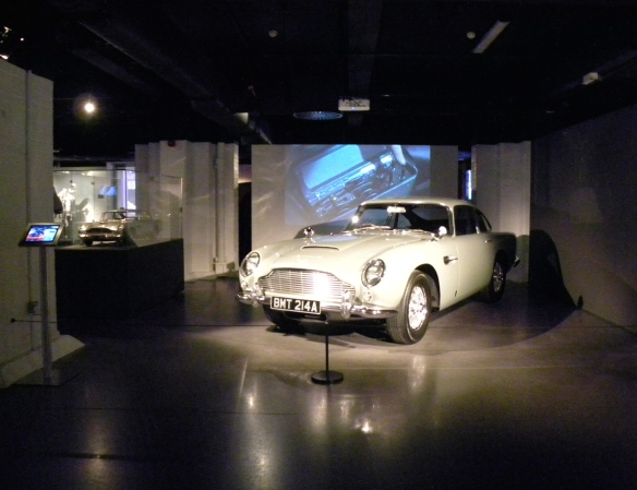 Bond in Motion Aston Martin DB5
