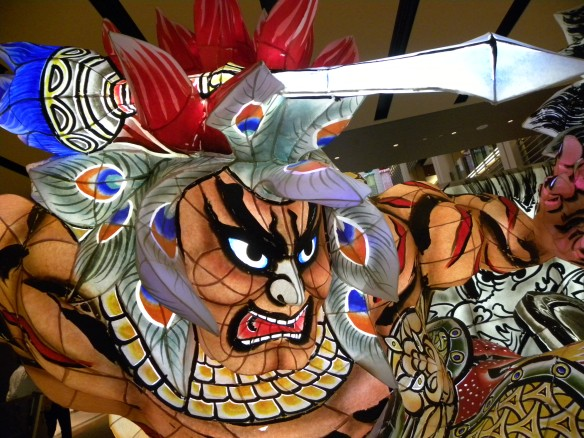Aomori Nebuta Festival Decorations